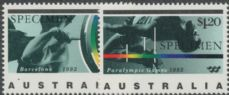 AUS SG1359s-60s Barcelona Olympic Games and Paralympic Games SPECIMEN set of 2
